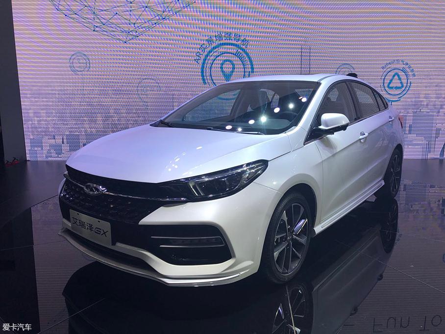 2018北京车展: 奇瑞艾瑞泽GX正式发布