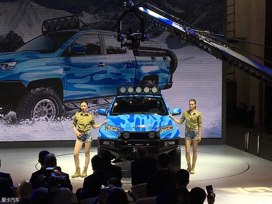 北京车展: 江铃域虎狩猎者改装版发布