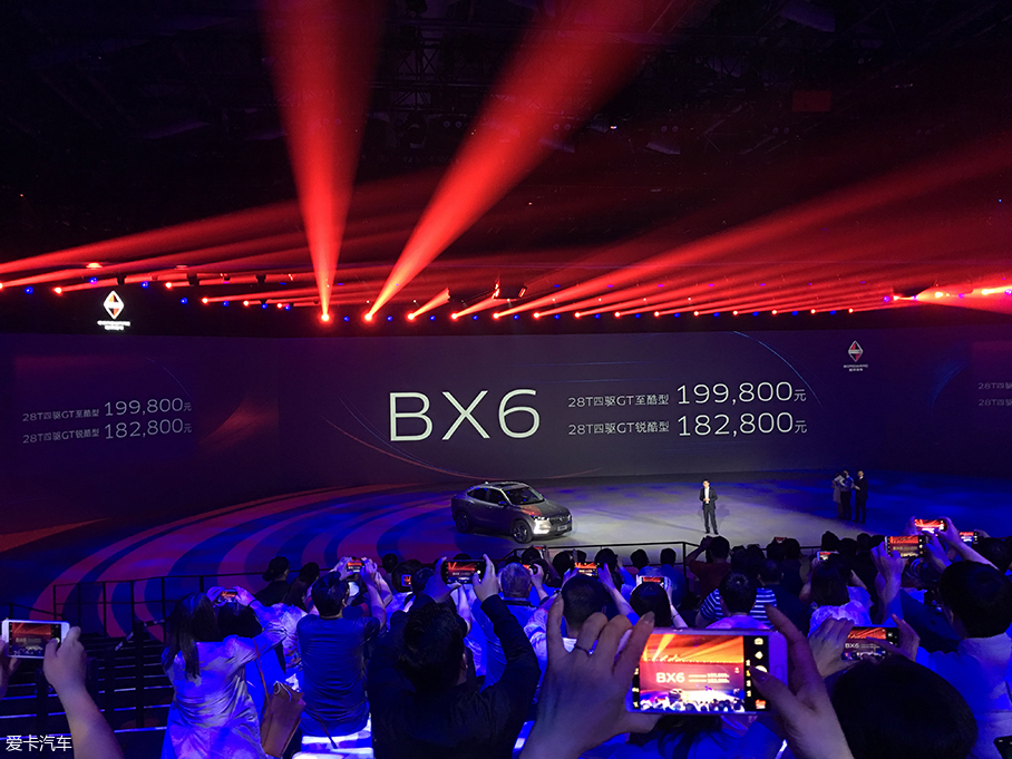 BX6价格图