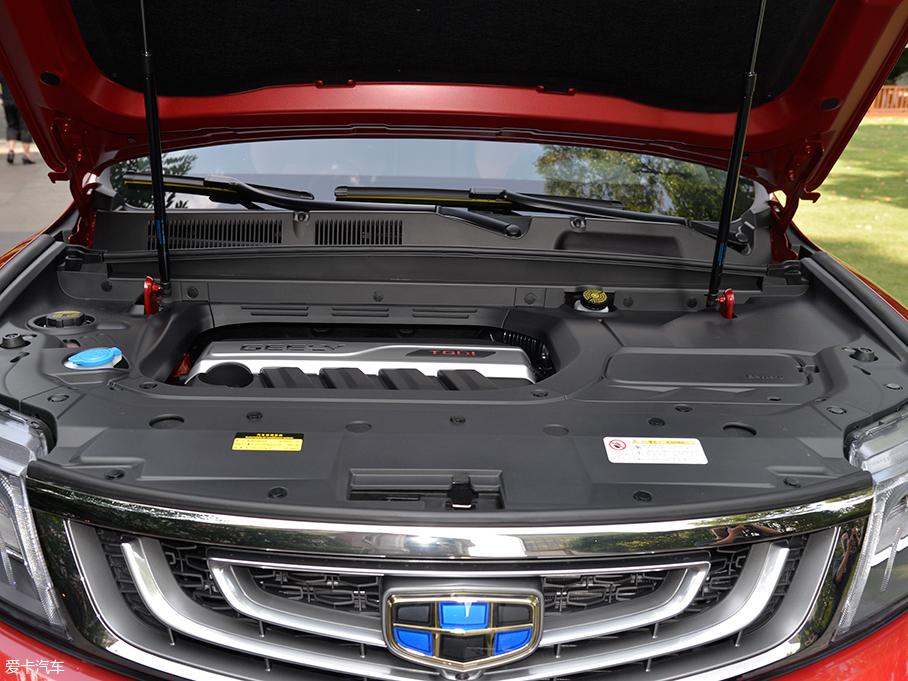 吉利博越运动版正式亮相 提供双色车身