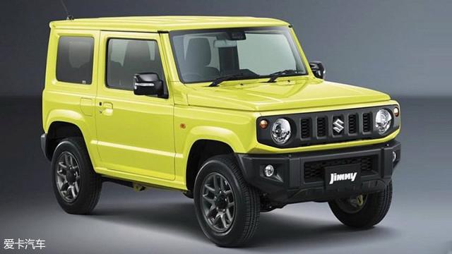 铃木全新吉姆尼普通版车型