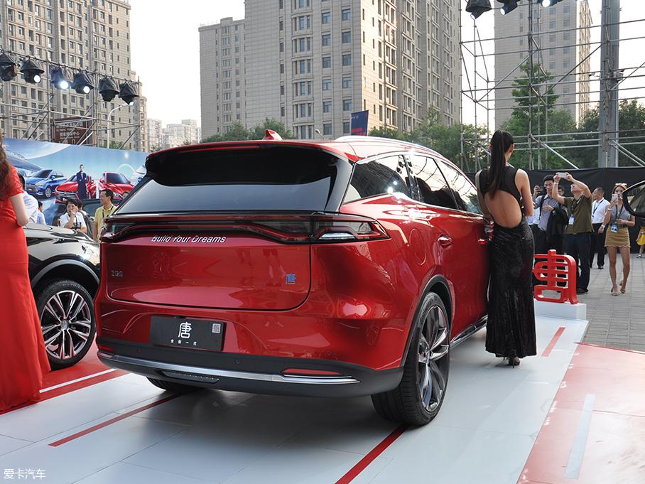 比亚迪全新一代唐EV亮相 有望12月上市