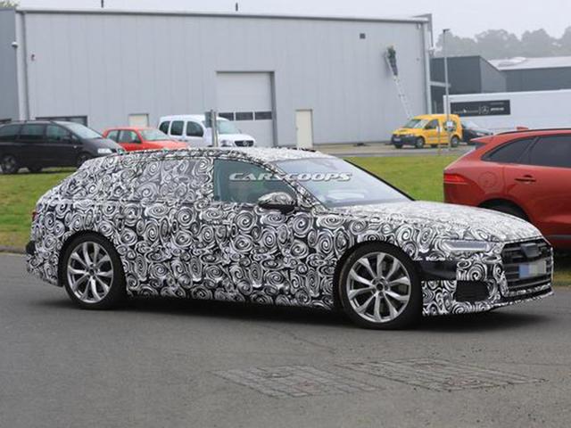 奥迪全新S6 Avant谍照 延续全新A6设计