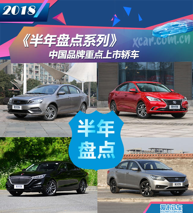 中国品牌上市轿车