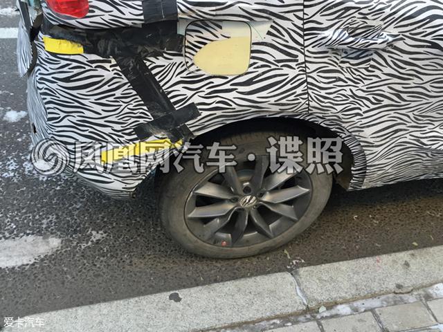 宝沃小型SUV BX3谍照 将北京车展首发