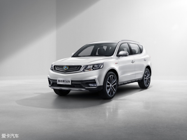 吉利新远景SUV官图曝光 将于五月上市