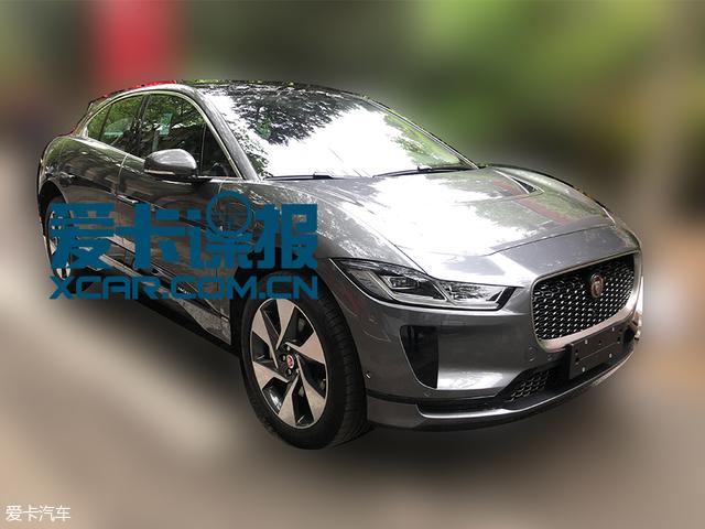 2018北京车展探馆:纯电动SUV捷豹I-PACE