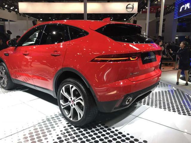 2018北京车展:国产捷豹E-PACE正式亮相