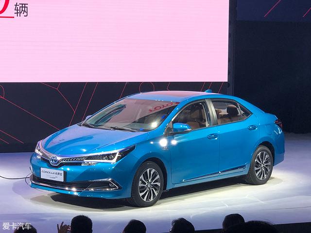 [原创]卡罗拉PHEV广州车展预售 将明年3月上市