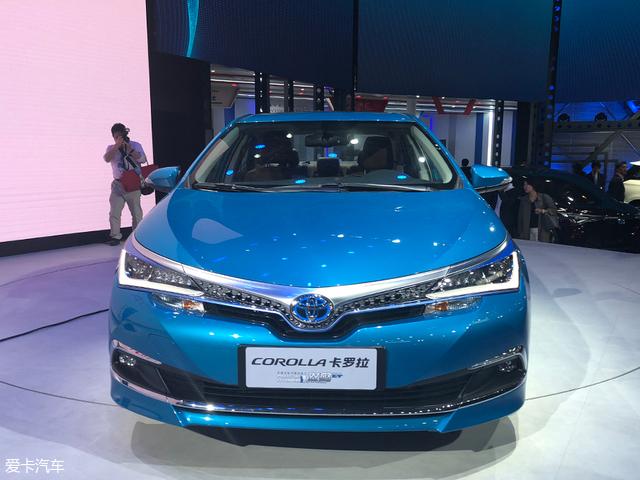 2018北京车展:卡罗拉插电混动版亮相