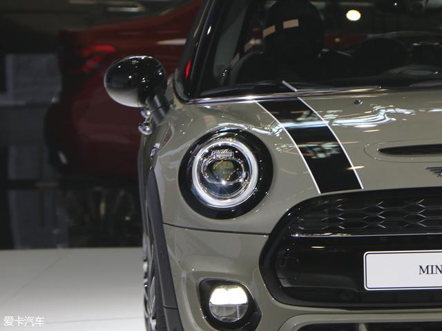 新款MINI五门版官图发布 北京车展亮相 新款MINI五门版