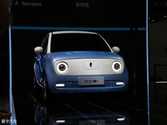 2018北京车展 欧拉R1/R2两款车型首发