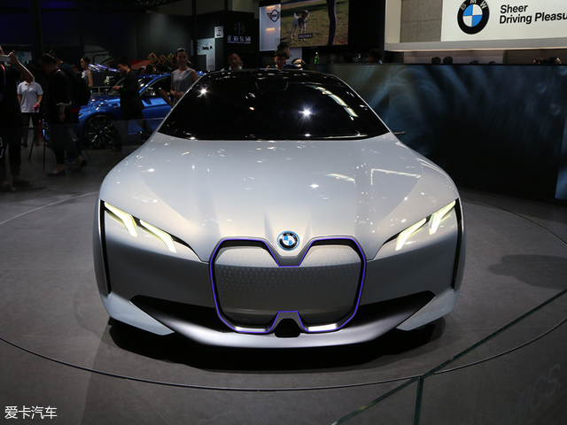北京车展 宝马i Vision Dynamics发布