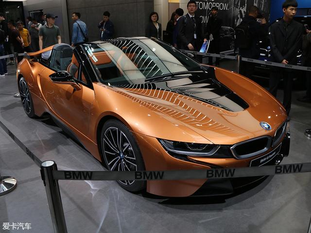 2018北京车展: 宝马i8敞篷量产版亮相