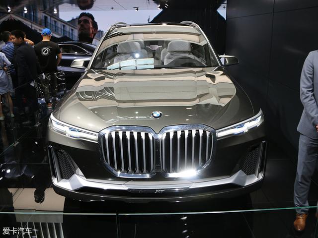 2018北京车展: 宝马X7概念车国内首发