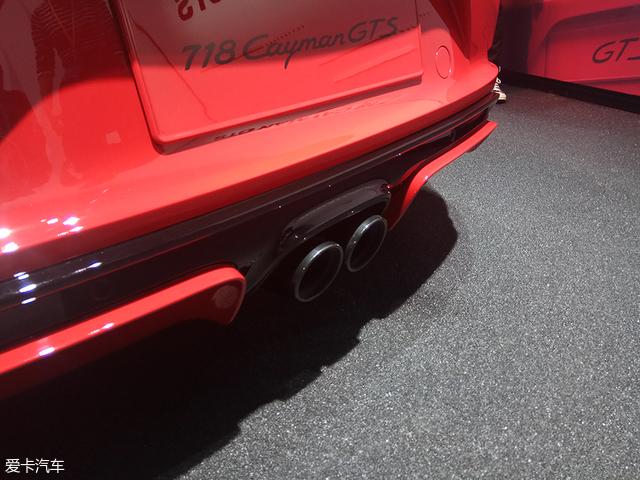 2018北京车展:保时捷718 Cayman GTS