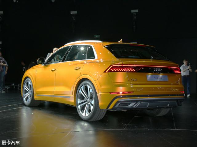 奥迪Q8量产版全球首发 定位大型轿跑SUV