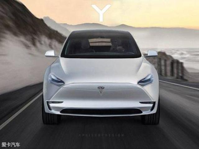 特斯拉Model Y假想图曝光 将2019年亮相