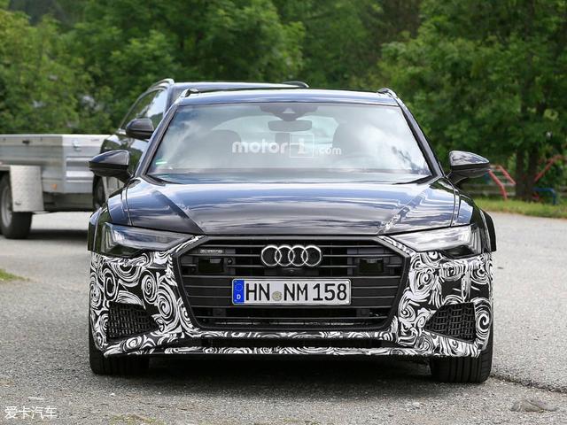 全新一代奥迪RS 6 Avant谍照 明年发布
