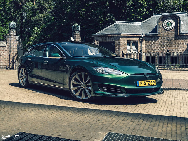 特斯拉Model S Shooting Brake官图发布