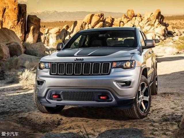 Jeep大切诺基推Trailhawk车型 7月上市