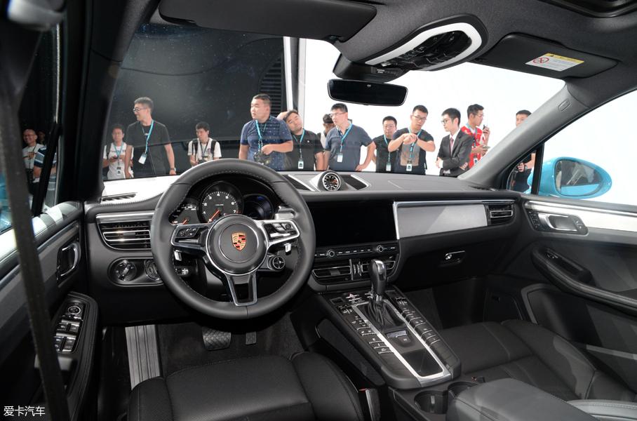保时捷新Macan全球首发 建议售价55.8万