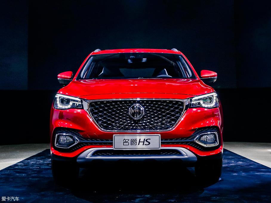 紧凑型SUV名爵HS正式亮相 预计9月上市