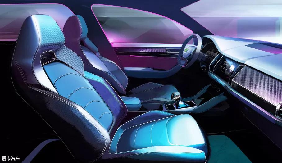 柯迪亚克GT设计草图发布 外观更具野性