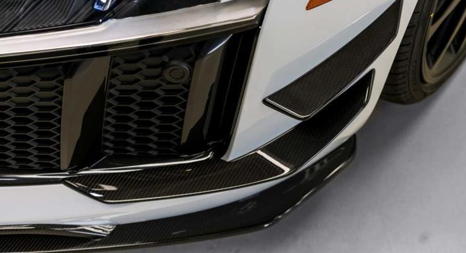 奥迪R8竞技版套件官图发布 外观更运动