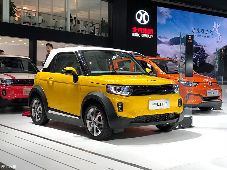 广州车展:北汽新能源新款LITE公布预售