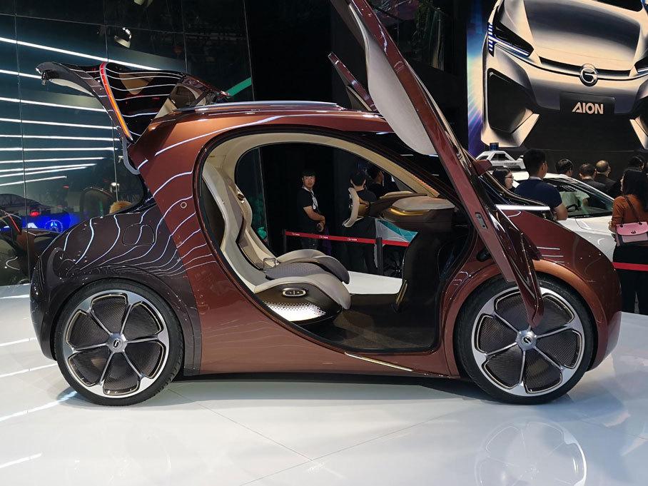 论长相呆萌 还得看广汽新能源的概念车