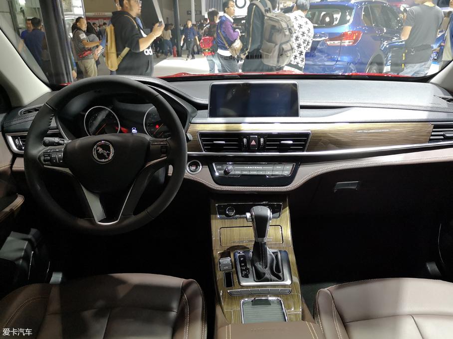 2018广州车展:汉腾X5 MAX正式首发亮相