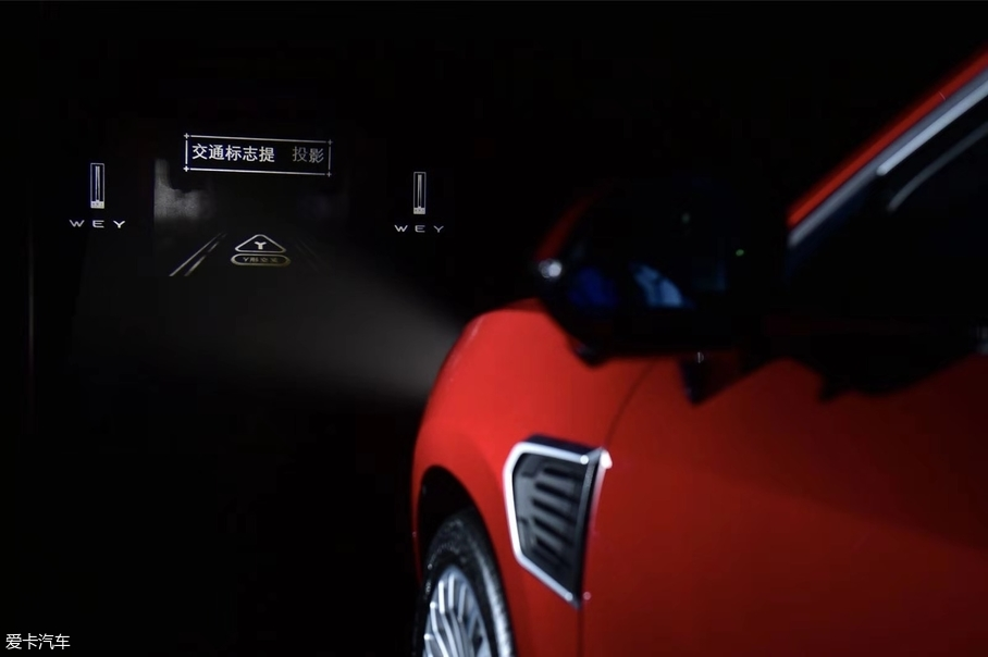 WEY P8 GT明年2季度上市 搭载智能大灯