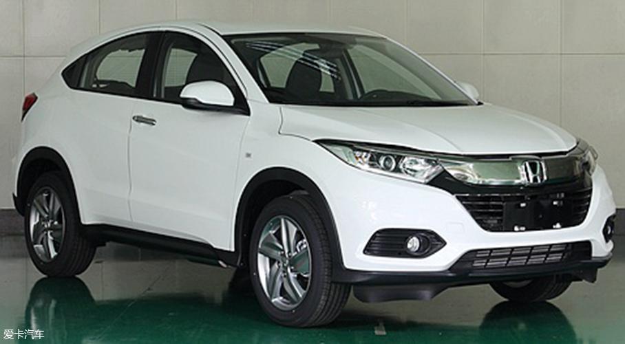 广汽本田新款缤智申报图 增1.5T发动机