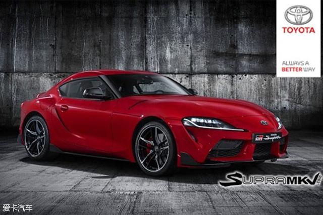 丰田Supra疑似官图曝光 将北美车展发布