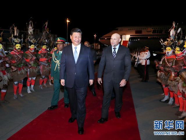习近平对巴布亚新几内亚进行国事访问