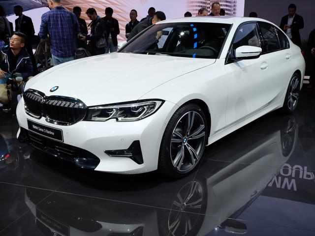 2018巴黎车展 全新一代宝马3系正式亮相