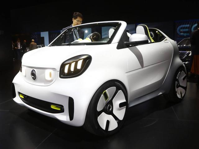 2018巴黎车展 smart Forease概念车亮相