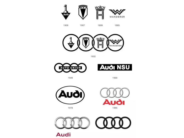 奥迪品牌计划换车标 新造型会更好看?图片