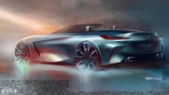 宝马新Z4设计草图曝光 圆石滩车展发布