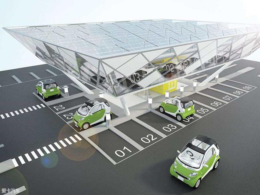 广东发电动车充电基础设施建设技术规程