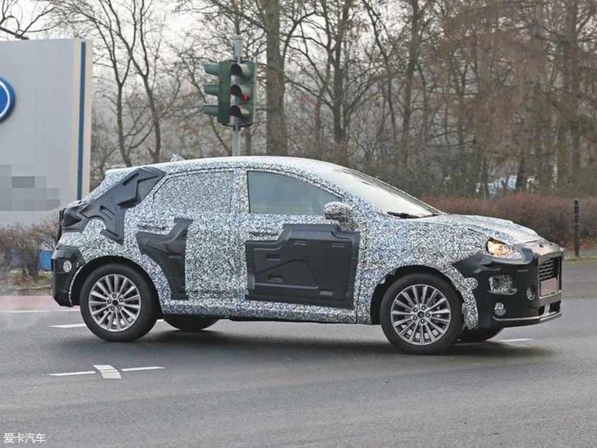 疑似福特全新小SUV谍照 未来或顶替翼搏