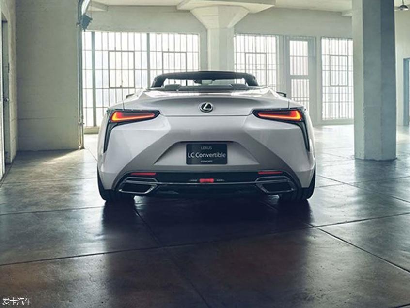 雷克萨斯LC敞篷版概念车 北美车展发布