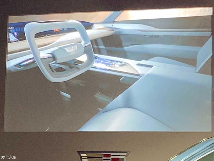 凯迪拉克纯电动SUV概念车官图 即将首发