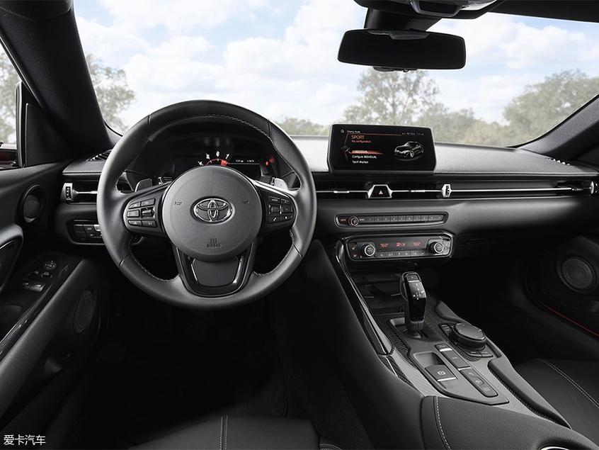 丰田新一代Supra官图发布 北美车展亮相