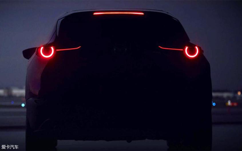 马自达全新SUV预告图
