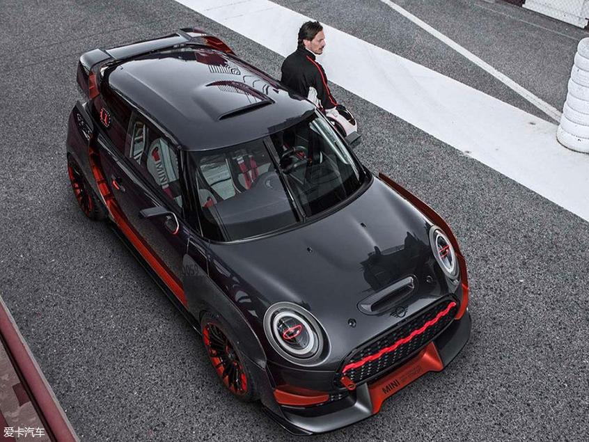 MINI JCW GP量产版预告图 MINI最强车型