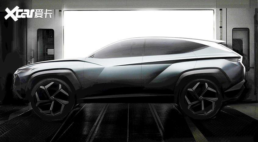 现代新概念车将亮相洛杉矶 大灯是亮点