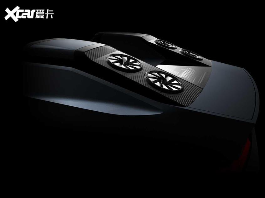 三菱新概念车预告图发布 东京车展首发