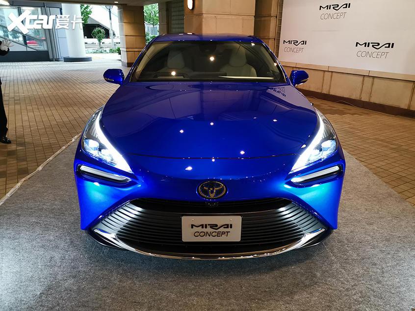 丰田Mirai Concept亮相 2020年底上市
